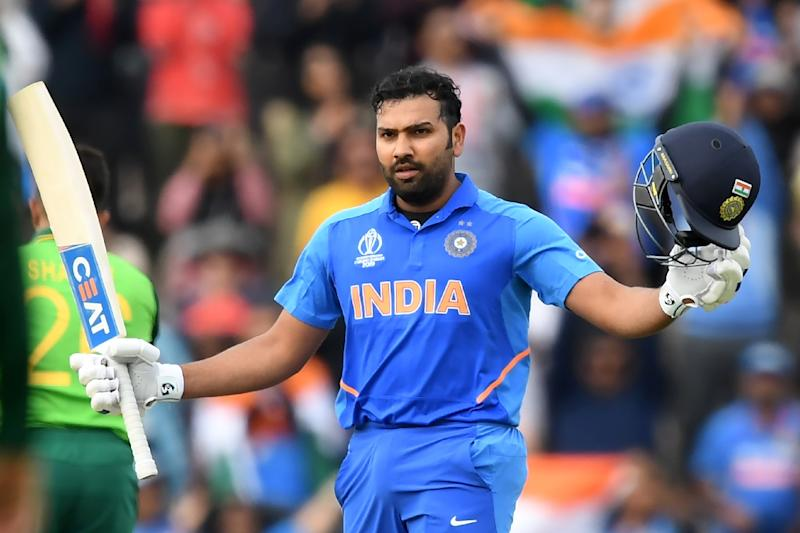 India's Rohit Sharma hit a superb hundred against Pakistan
