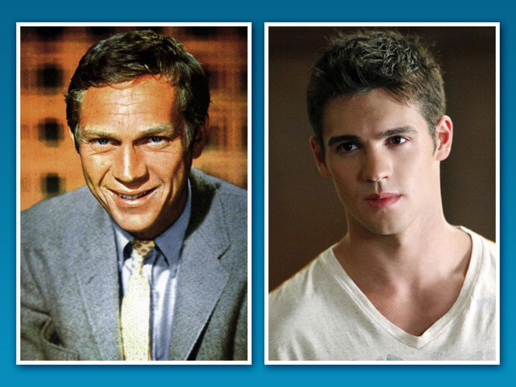 "<strong>Steven R. McQueen</strong><br><br> <strong>Famous Family:</strong> Steve McQueen, grandfather<br><br> <strong>Breaking Out on TV:</strong> If this 23-year-old's name sounds familiar, it's because he's the grandson of legendary Hollywood actor Steve McQueen. Steven R. McQueen has already earned some notable credits in his relatively short career, including a handful of guest starring parts on ""<a href=""http://tv.yahoo.com/everwood/show/28183"">Everwood</a>,"" ""<a href=""http://tv.yahoo.com/csi-miami/show/28267"">CSI: Miami</a>,"" ""<a href=""http://tv.yahoo.com/without-a-trace/show/28174"">Without a Trace</a>,"" ""<a href=""http://tv.yahoo.com/numb3rs/show/36573"">Numb3rs</a>,"" and ""<a href=""http://tv.yahoo.com/threshold/show/37511"">Threshold</a>."" With his breakout role on The CW's hit drama ""<a href=""http://tv.yahoo.com/vampire-diaries/show/44270"">The Vampire Diaries</a>"" as Elena's (Nina Dobrev) younger brother Jeremy Gilbert, we're guessing it's only a matter of time before McQueen matches his grandfather's ""King of Cool"" legacy."