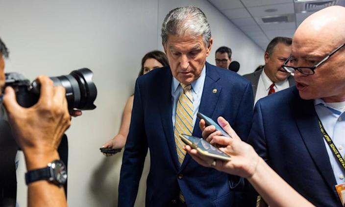 Senator Joe Manchin of West Virginia, a conservative Democrat, has so far declined to say if he will support the procedural motion in support of the For the People Act.