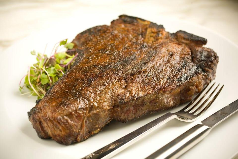 "<p>Your wallet might hate you but your tastes buds will praise you for the opportunity to sample this steak at <a href=""https://www.tripadvisor.com/Restaurant_Review-g60795-d567158-Reviews-Barclay_Prime-Philadelphia_Pennsylvania.html"" rel=""nofollow noopener"" target=""_blank"" data-ylk=""slk:Barclay Prime"" class=""link rapid-noclick-resp"">Barclay Prime</a>. With its perfect marbling, the highest quality beef melts in your mouth with each bite helping you forget the price tag, until the bill comes.</p>"