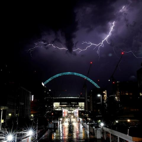 Wembley Stadium - Credit: REUTERS/Carl Recine