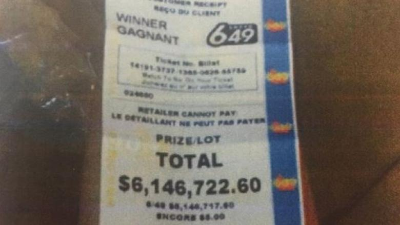 Lotto winner feuding with ex over $6M prize now suing regulator