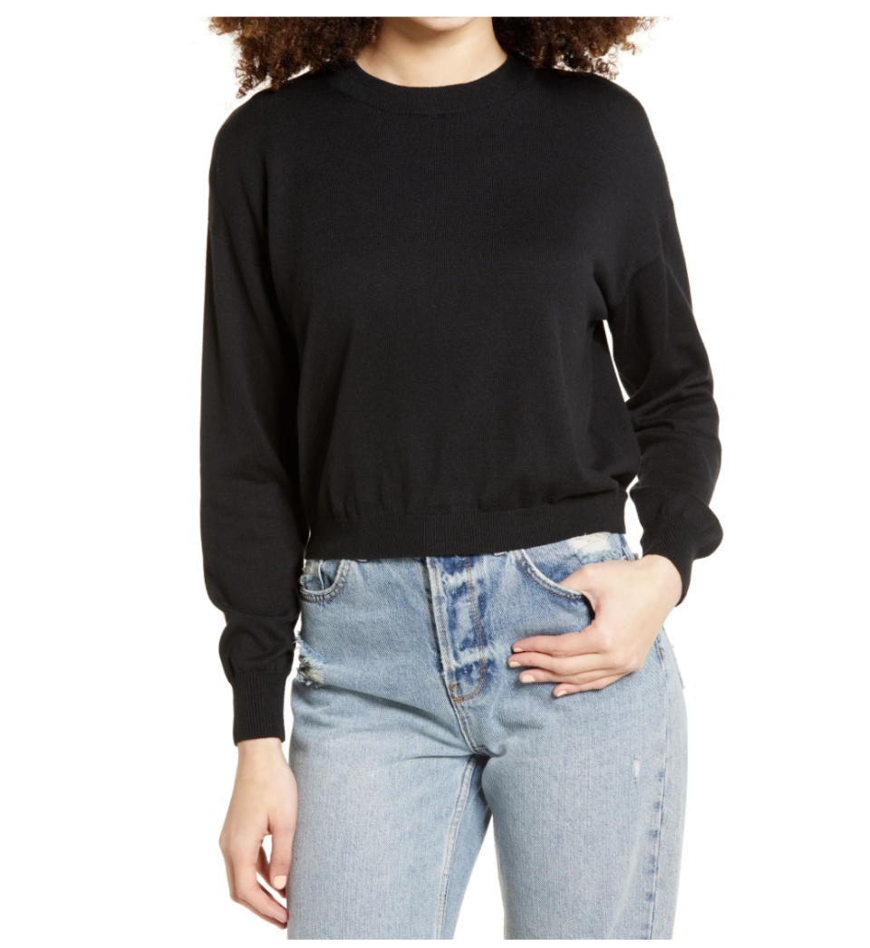 BP. Easy Drop Shoulder Sweater. Image via Nordstrom.