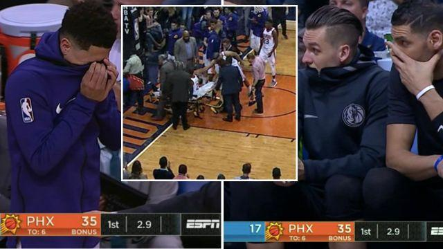 Not nice for either team. Image: ESPN