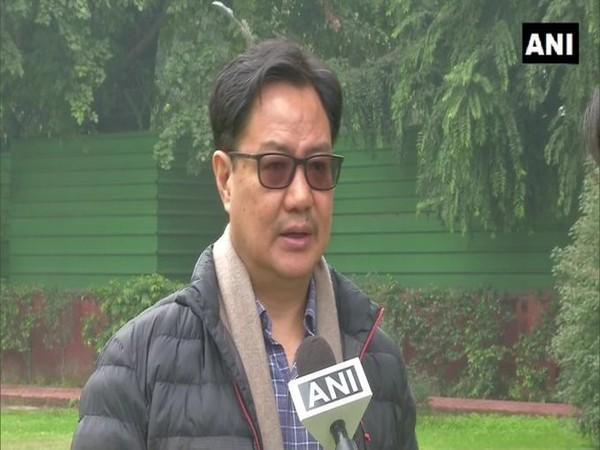 Kiren Rijiju, Union Minister for Youth Affairs and Sports (file image)