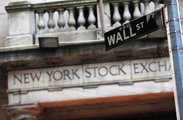 NYSE and Wall Street sign: Credit Reuters