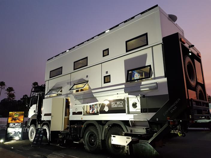 SLRV Expedition Vehicle - Commander 8x8 - Custom RV - Australian Family of 8