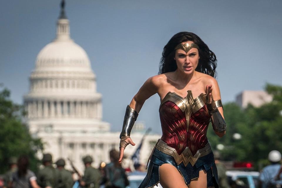 Gal Gadot in Wonder Woman 1984 (AP)