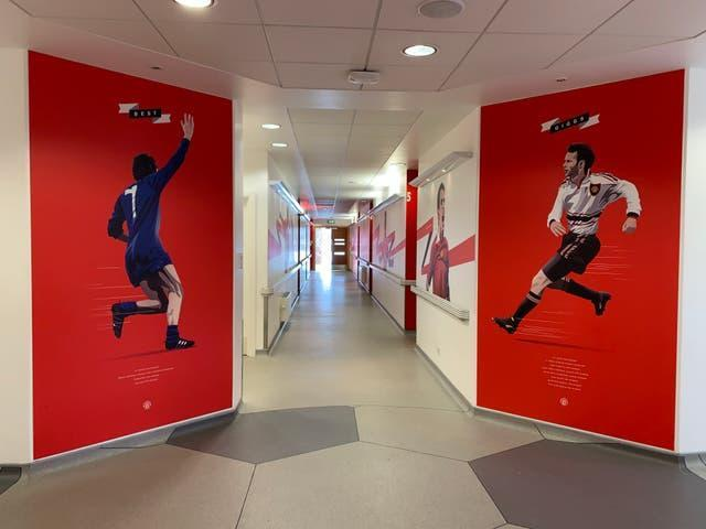 The walls at Manchester United's academy are adorned with stars to have come through the ranks