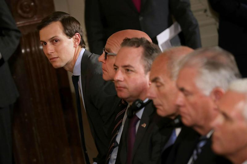Donald Trump's son-in-law Jared Kushner 'person of interest in Russia investigation'