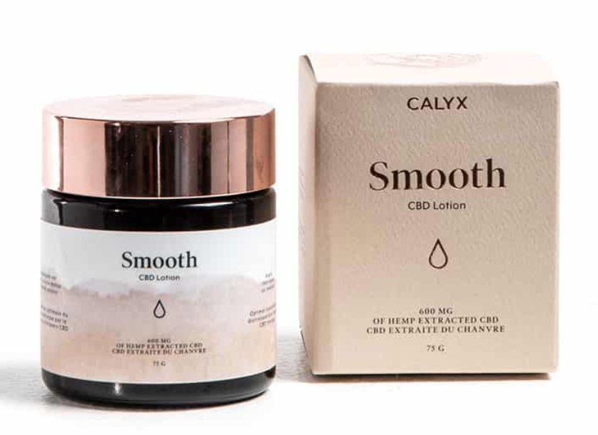 Calyx Wellness Smooth CBD Lotion