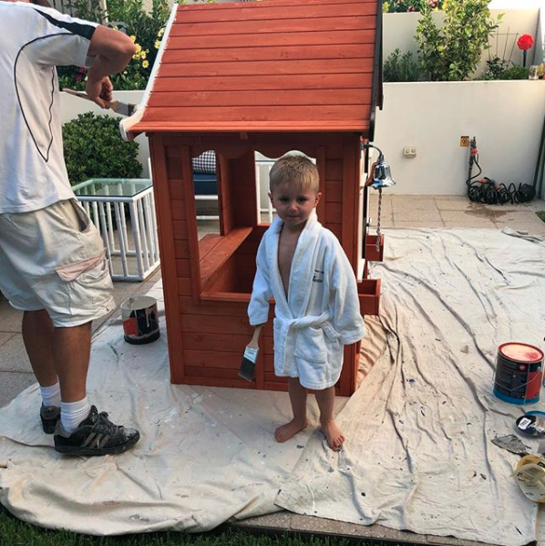 The cubby from Kmart costs just $199. Photo: Instagram