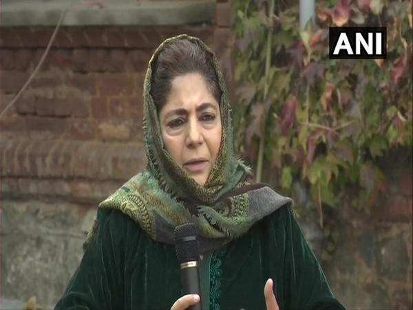 Mehbooba Mufti, former Chief Minister of Jammu and Kashmir (File Photo)