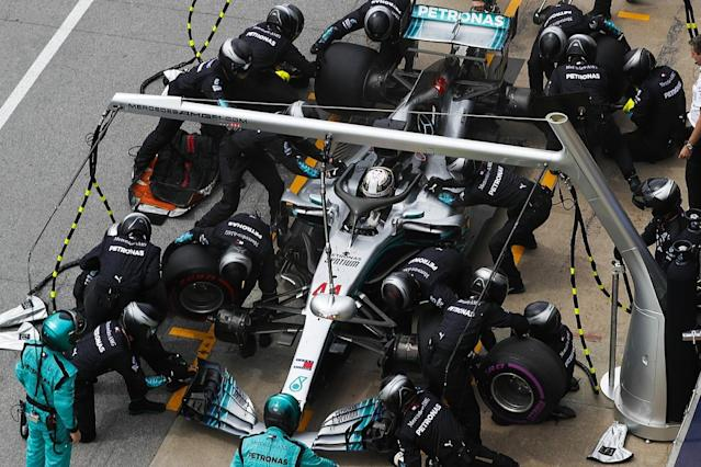 Mercedes ran old engines 'fully' in Canada
