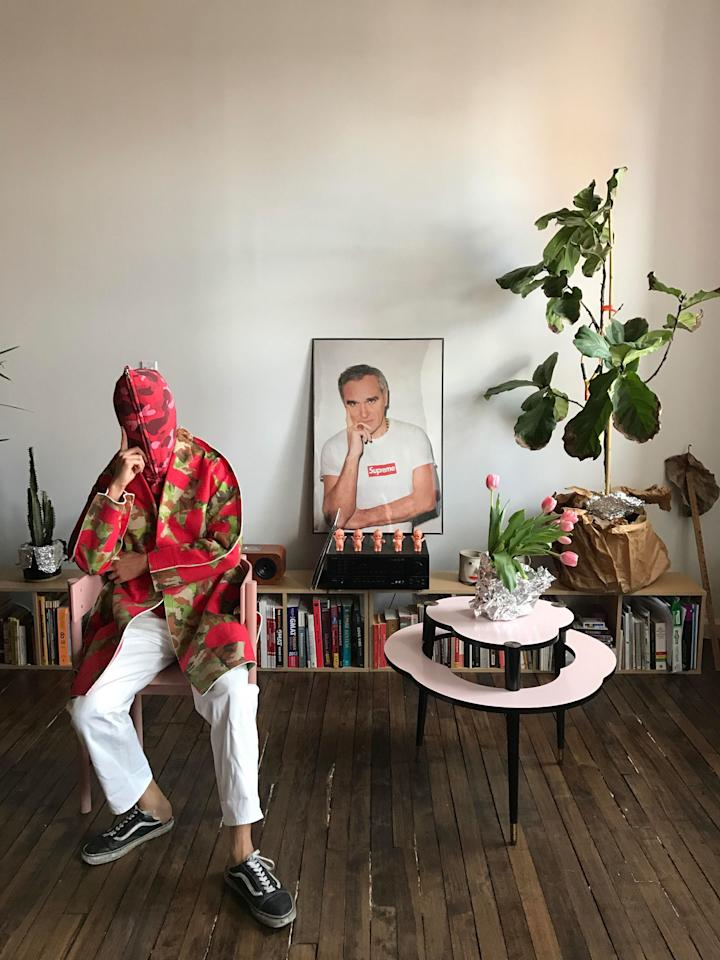 """<p><b>Martha Violante, stylist</b></p><p>""""Rei Kawakubo has always been a fashion rule breaker . . . she is an artist . . . and she marches to the beat of her own drum . . . and I have always related to that . . . I have never wanted to fit in.""""</p>"""