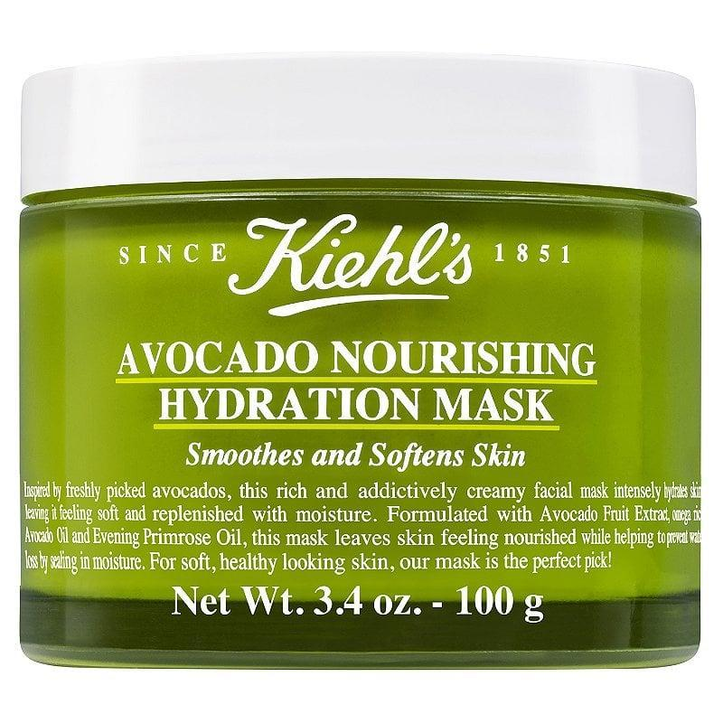 <p>As the weather gets colder, you can't go wrong with a hydrating face mask like the <span>Kiehl's Since 1851 Avocado Nourishing Hydration Mask </span> ($23, originally $45). The rich, creamy formula helps nourish and soothe skin in just 15 minutes. Right now, it's 50 percent off. </p>