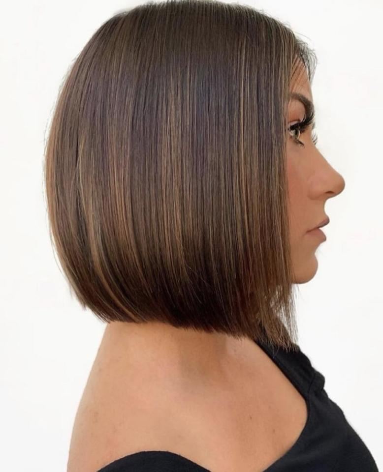 <p>This chin-hugging cut doesn't take any sass, which just so happens to be the vibe we're trying to muster for the whole autumn season.</p>
