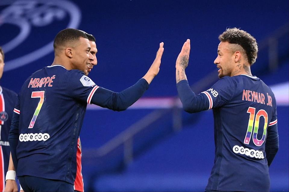 <p>PSG will be hoping for a twist next Sunday</p> (AFP via Getty Images)