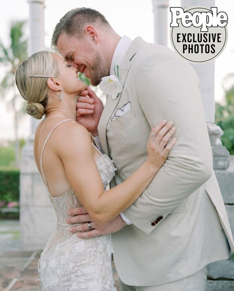 JJ Watt and Kealia Ohai in photo by @corbingurkin | Corbin Gurkin