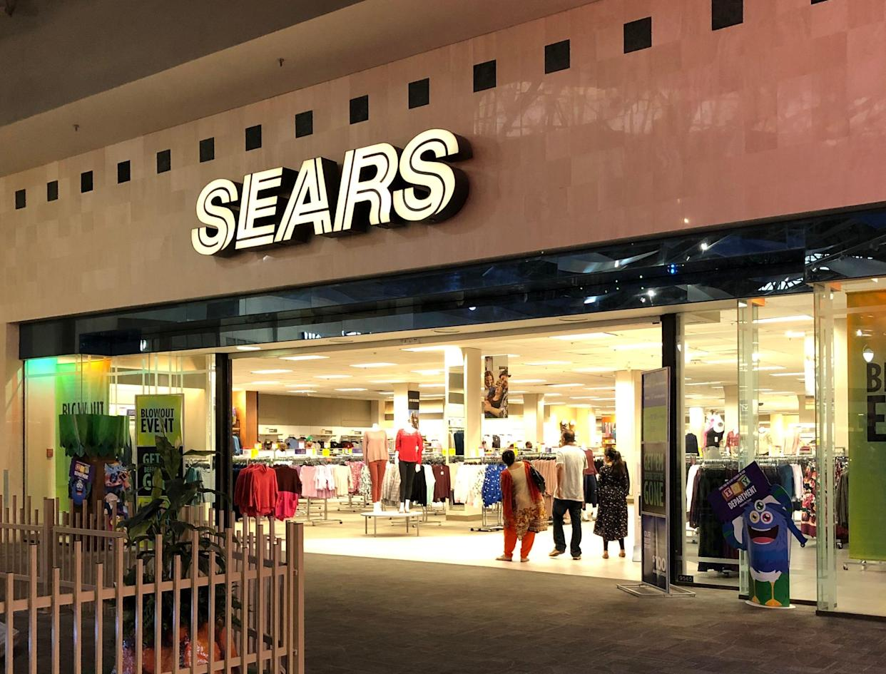 Sears has closed hundreds of stores in recent years.