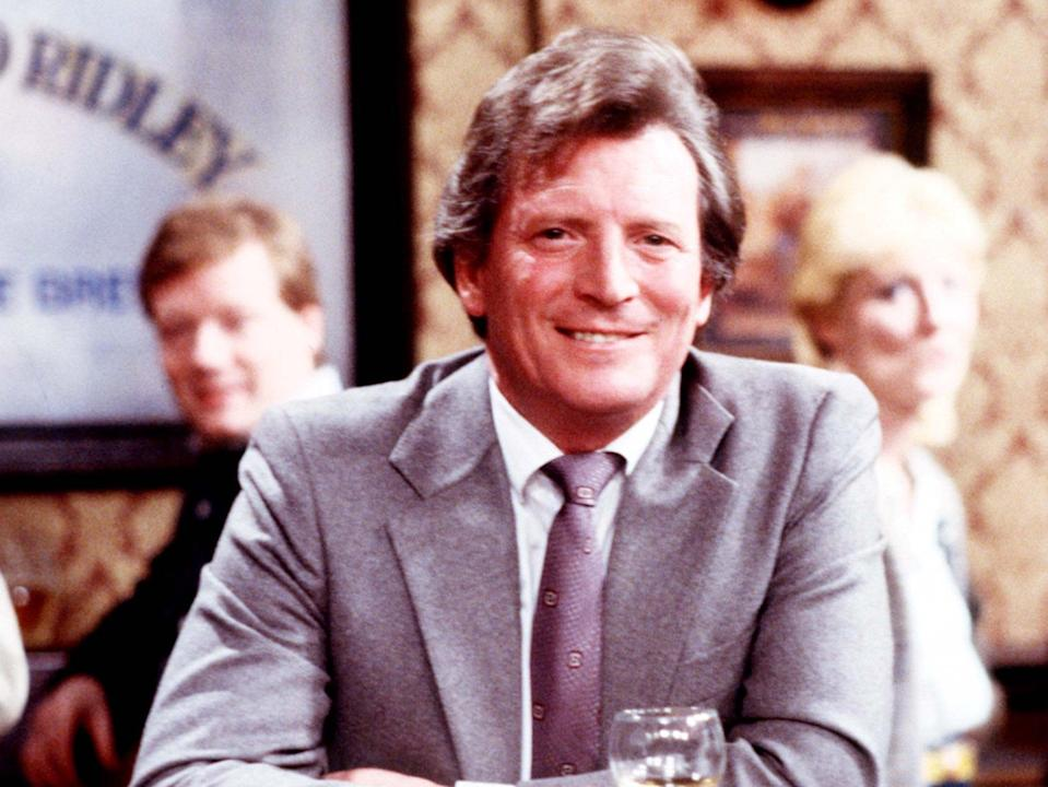 <p>Briggs spent three decades as Mike Baldwin in the long-running soap</p> (ITV/Shutterstock)