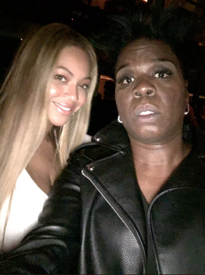 "<p>Jones tweeted this photo in October after Bey's hubby, Jay-Z, performed on <em>SNL</em>. ""I take the worst pics ever!!"" she wrote. ""Thank God Beyoncé is just f***ing beautiful!! Thanks for pic Queen B!! I was so nervous!!"" To be fair, it's hard to take a picture with Queen Bey and not look and feel stunned. Besides, Jones's expression is what makes this image so awesome. (Photo: <a rel=""nofollow"" href=""https://twitter.com/Lesdoggg/status/914413594560917506"">Leslie Jones via Twitter</a>) </p>"