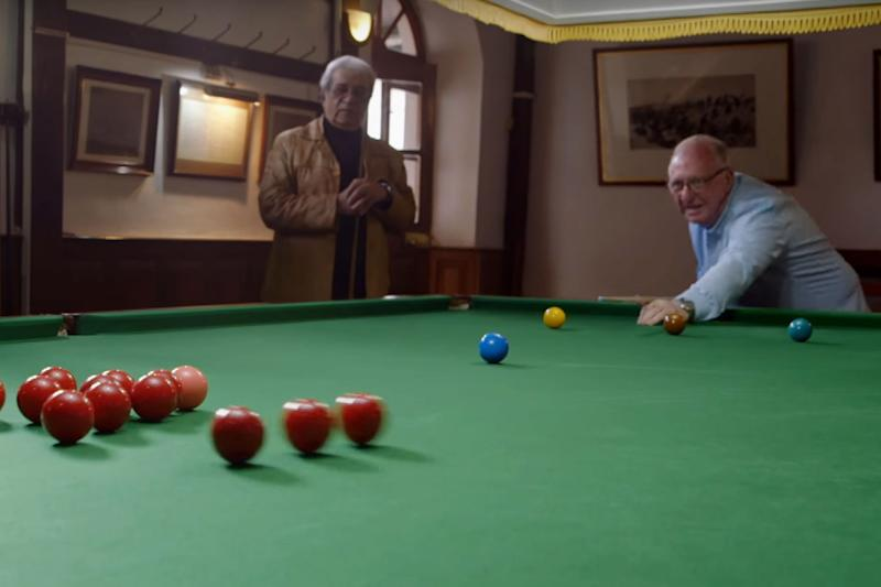 Dennis Taylor visits the Ooty Club - where snooker was born - on The Real Marigold Hotel: BBC