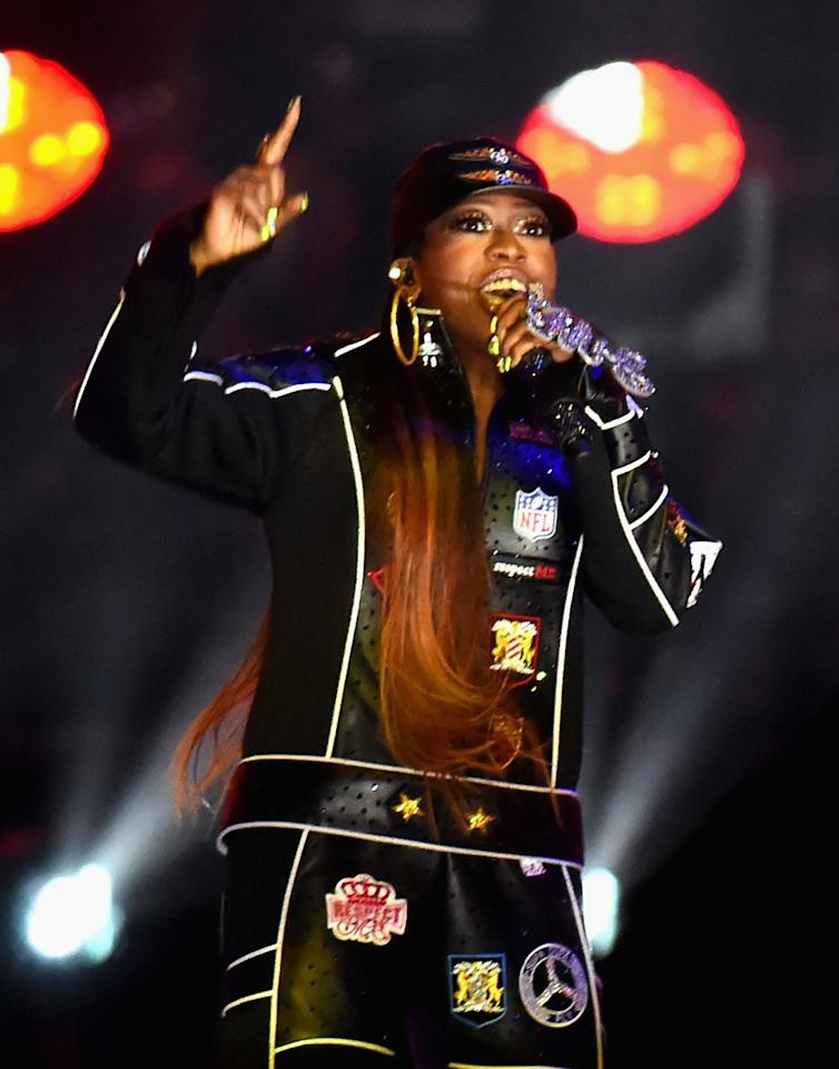 Katy Perry might have been the headliner, but Missy Elliott stole the show — in more ways than one.