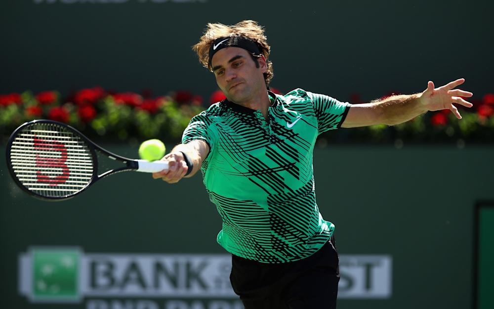 Roger Federer - Credit: getty images
