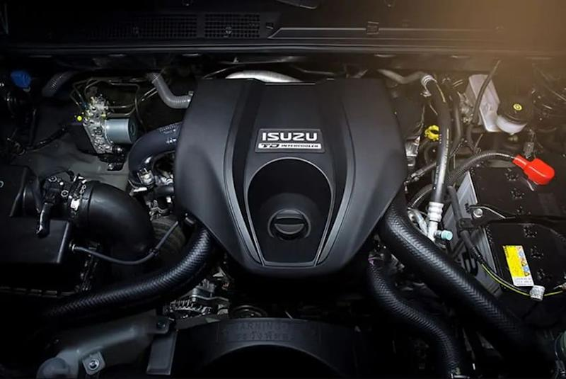 Isuzu D-MAX engine