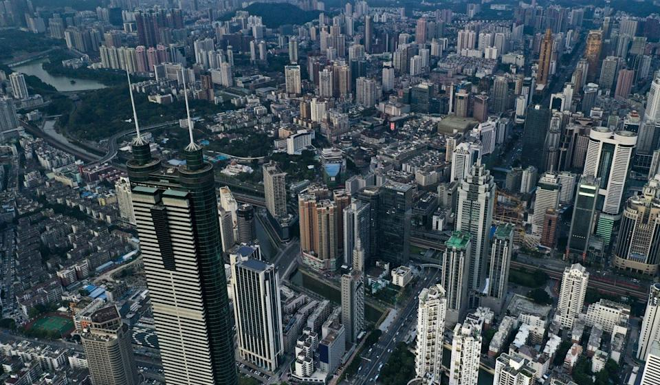 A view of Shenzhen, one of the cities in the Greater Bay Area. Photo: Martin Chan