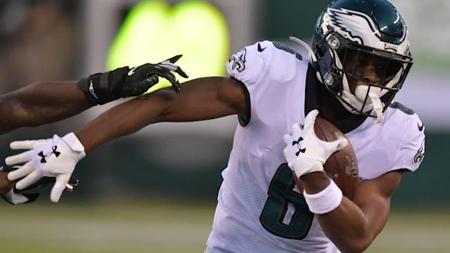 Eagles promote WR Greg Ward from the practice squad, place Jordan Mailata on Injured Reserve