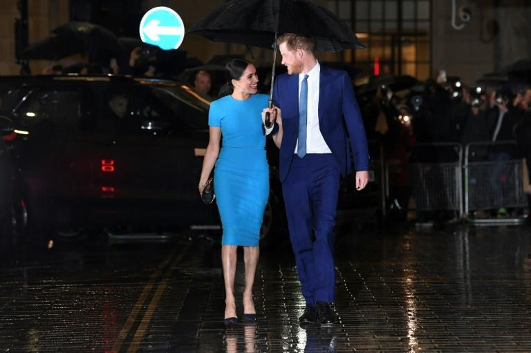 Britain's Prince Harry and his wife Meghan have relocated to the United States