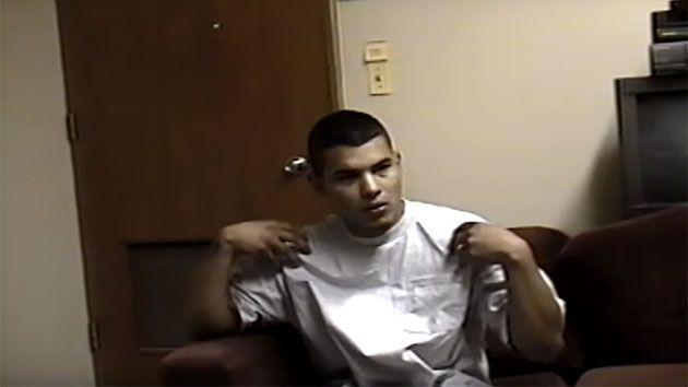 Vasquez firstly told authorities that as he and Chapa reached a wooden shed, he began hearing voices telling him to kill Cardenas. Photo: YouTube