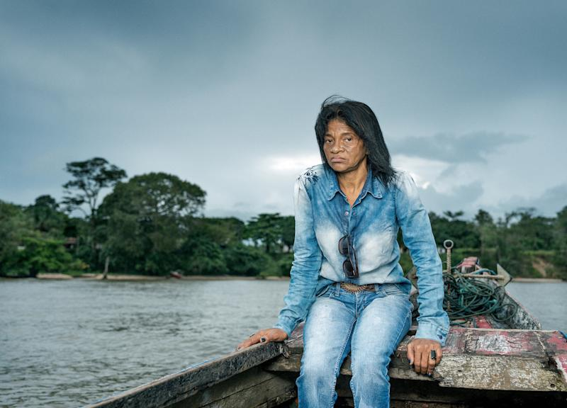 Maria do Socorro campaigns with communities against hydro aluminum factories, which are allegedly responsible for water poisoning in the town of Barcarena, Brazil.