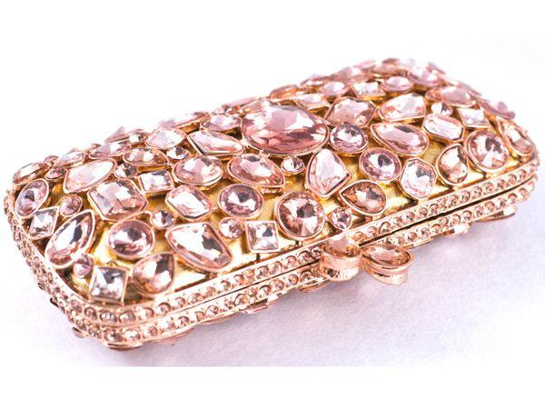 <p><strong>What</strong>: Crystal studded clutch<br /><strong>Why we like</strong>: Seriously, just look at it! What is there not to like. This marvellous clutch is a total head-turner.<br /><strong>Price</strong>: Rs.11,500<br /><strong>Where to buy</strong>: House of Chic is available at Ensemble and Amara Stores in Mumbai.</p>