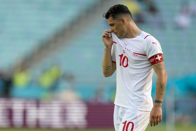 Xhaka will also miss a number of Switzerland's World Cup quailifers.