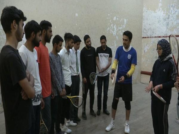 Squash is gaining popularity amongst youth in J-K. (Photos/ANI)