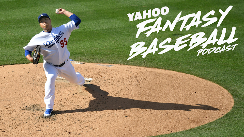 SP Hyun-Jin Ryu is making an impressive Cy Young case in 2019 on a Los Angeles Dodgers team that is looking to clinch the NL West early. Scott Pianowski and Vlad Sedler discuss the fantasy implications on the latest Yahoo Fantasy Baseball Podcast (Photo by John McCoy/Getty Images)