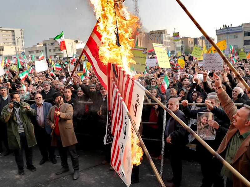 iran gasoline protests