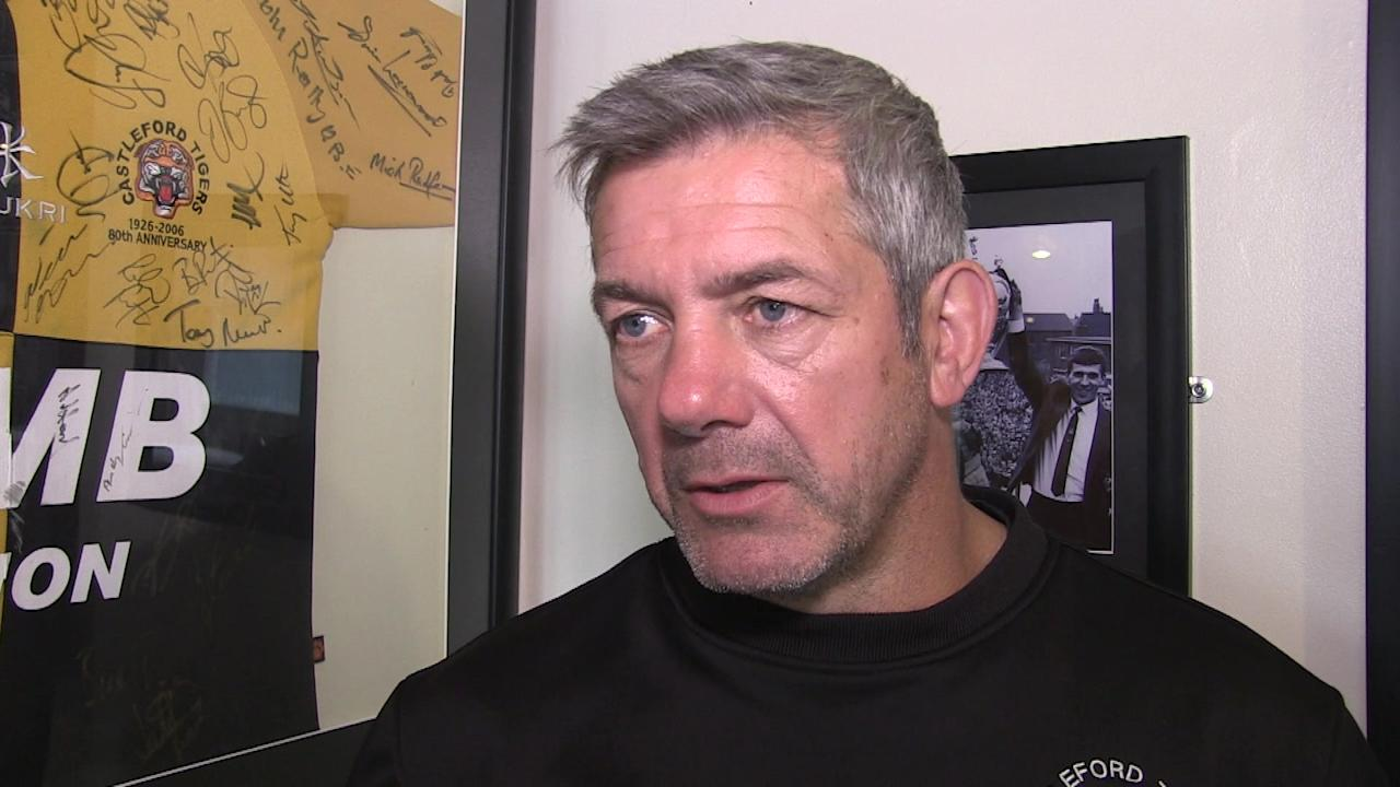 RL - CASTLEFORD - Coach Daryl Powell speaking ahead of the Super 8's match v Hull