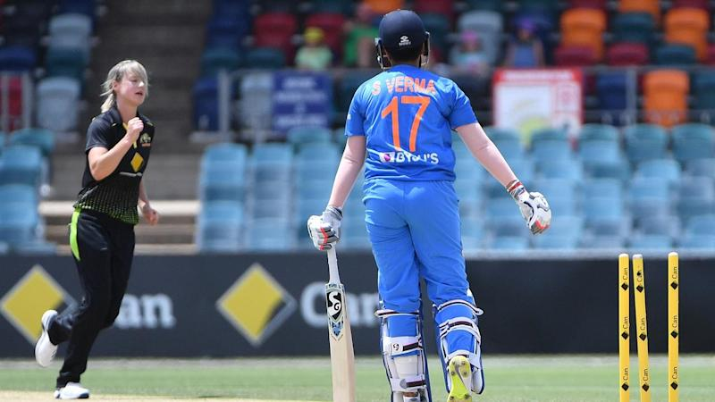 CRICKET T20 WOMEN AUSTRALIA INDIA