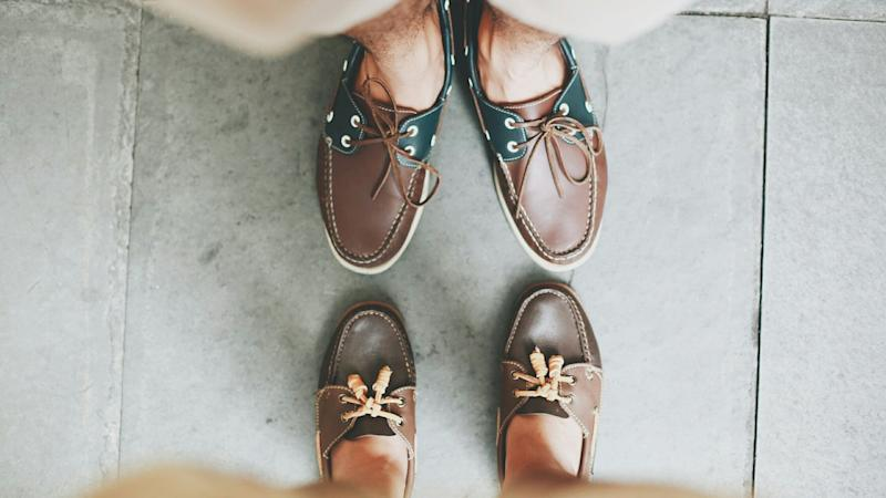 Use these strategies to keep your boat shoes from smelling. (Photo: Geoffrey Miles Mercado / EyeEm via Getty Images)