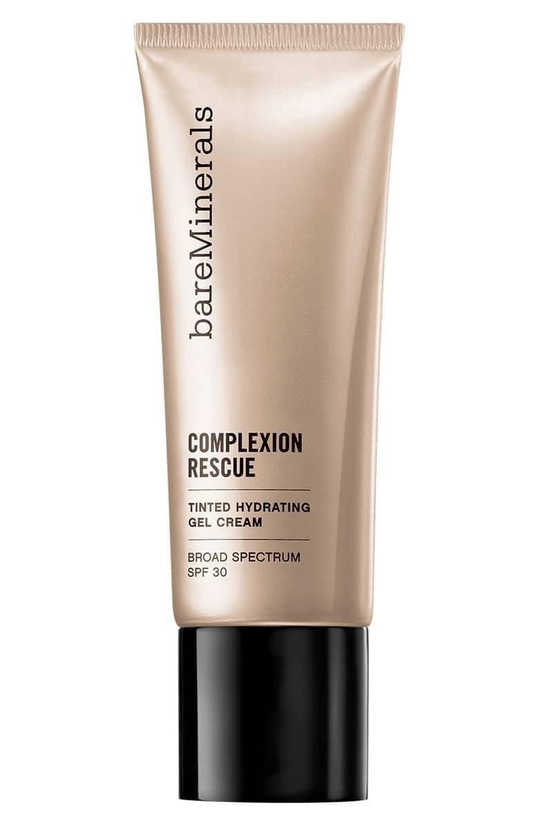 "<p>The <span>bareMinerals Complexion Rescue Tinted Moisturizer</span> ($30) has hundreds of positive reviews on Nordstrom; customers love that it's ""the best for on-the-go, quick application"" and are calling it a ""game changer.""</p>"