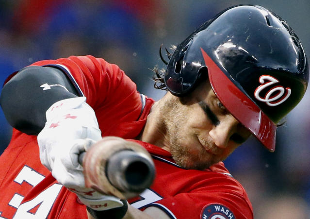 Bryce Harper is ready to return to the Nationals. (AP Photo/Nam Y. Huh, File)