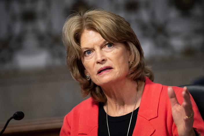 Sen. Lisa Murkowski (R-Alaska) is the only Republican senator to show openness to Democrats' coronavirus relief package. (Photo: Caroline Brehman via Getty Images)