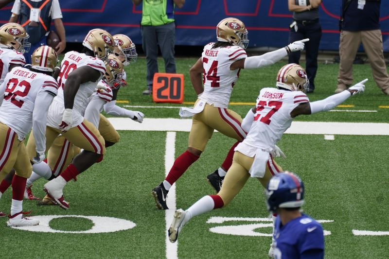 49ers climb back into thick of NFC West race after rough day for division