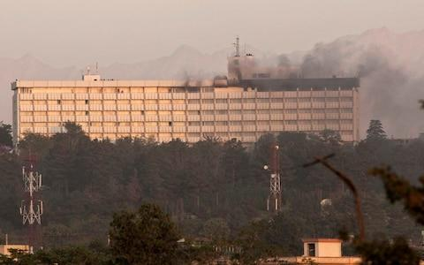 Intercontinental Hotel in Kabul  - Credit: Reuters