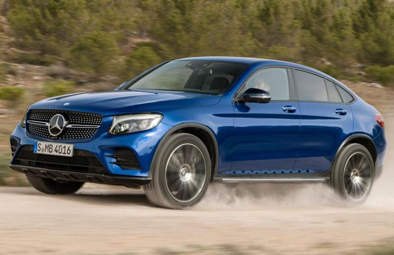 First glimpse of mercedes 39 high end electric suv likely at for Mercedes benz high end suv