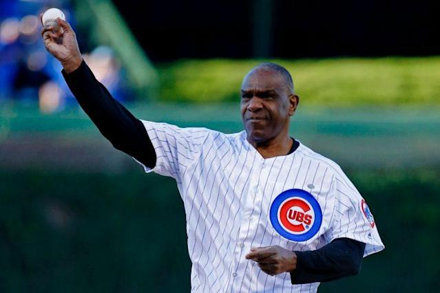 Andre Dawson remains in tremendous shape at age 62. (Getty Images)